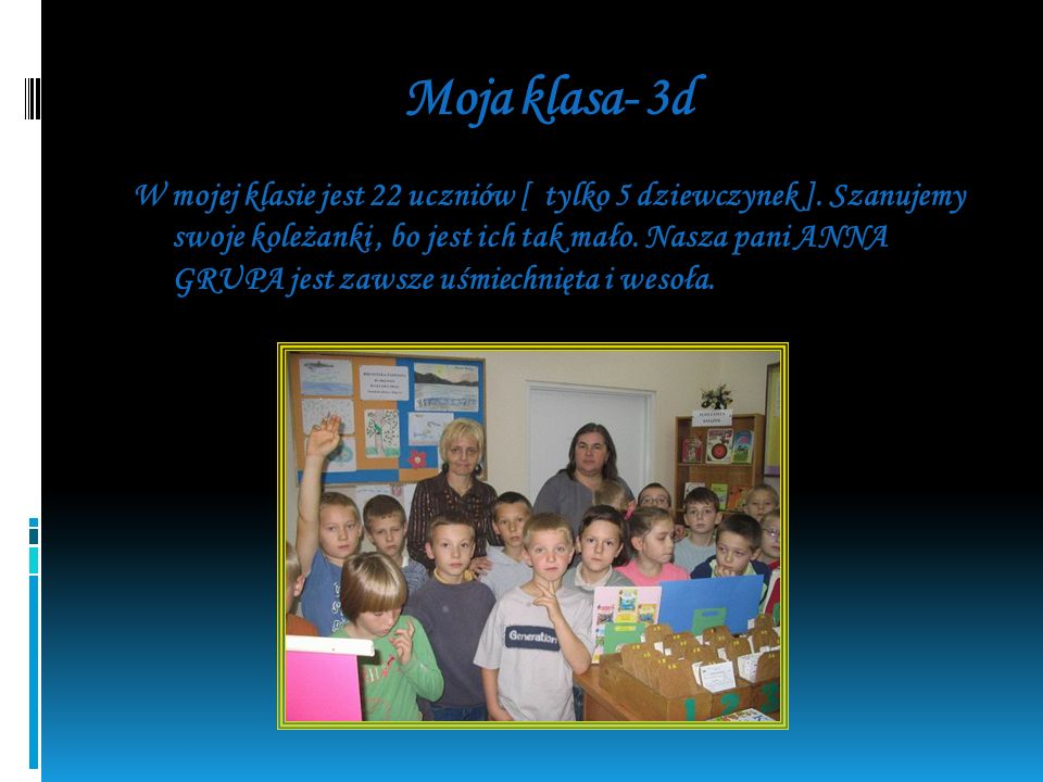 Moja klasa- 3d