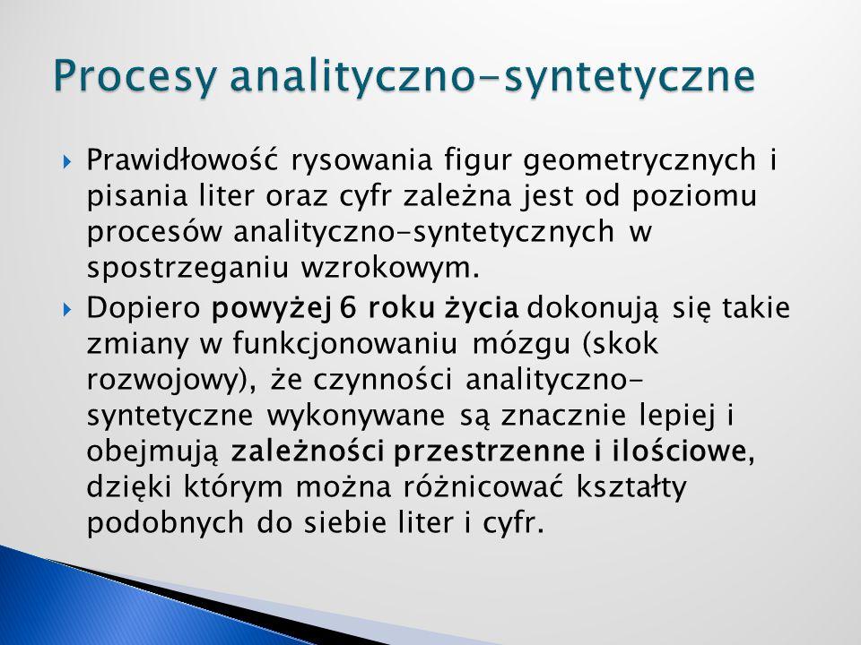 Procesy analityczno-syntetyczne