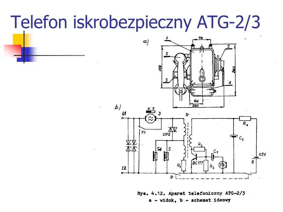Telefon iskrobezpieczny ATG-2/3