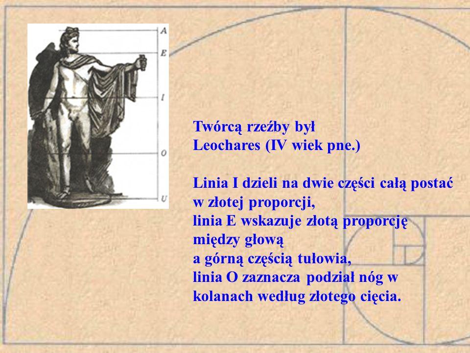 Twórcą rzeźby był Leochares (IV wiek pne.)