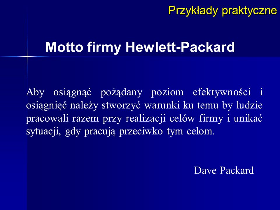 Motto firmy Hewlett-Packard