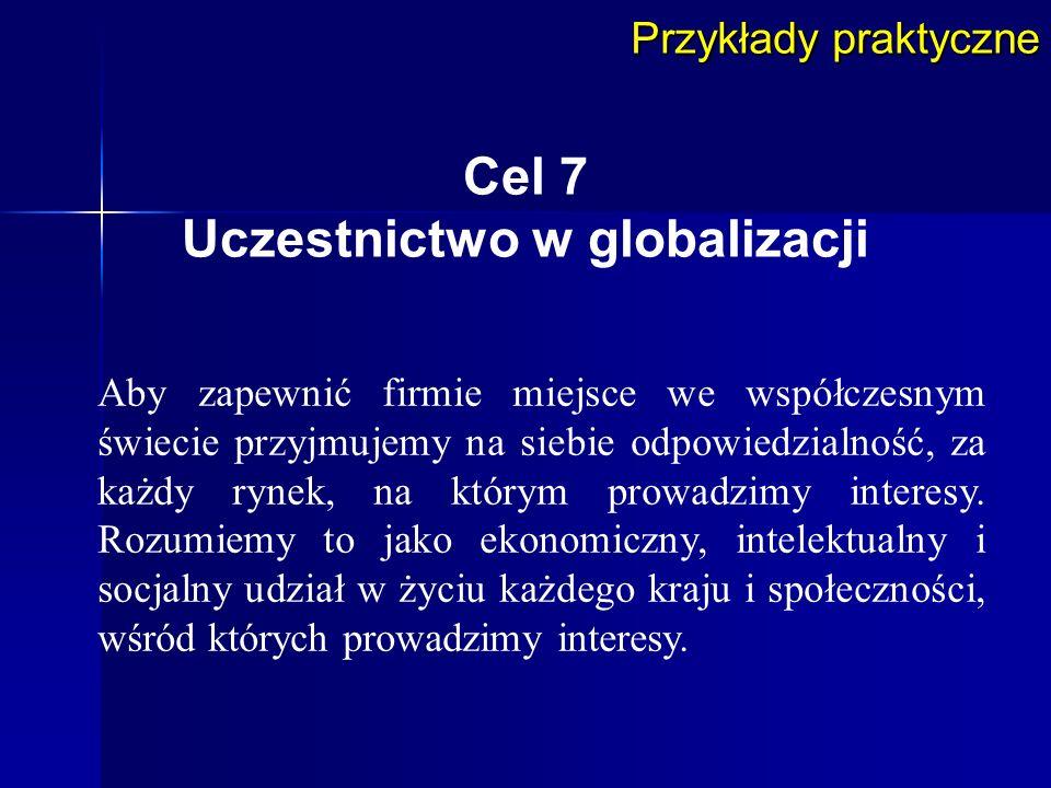 Uczestnictwo w globalizacji