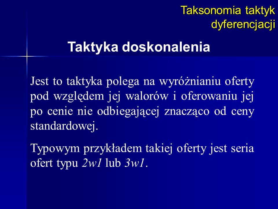 Taksonomia taktyk dyferencjacji