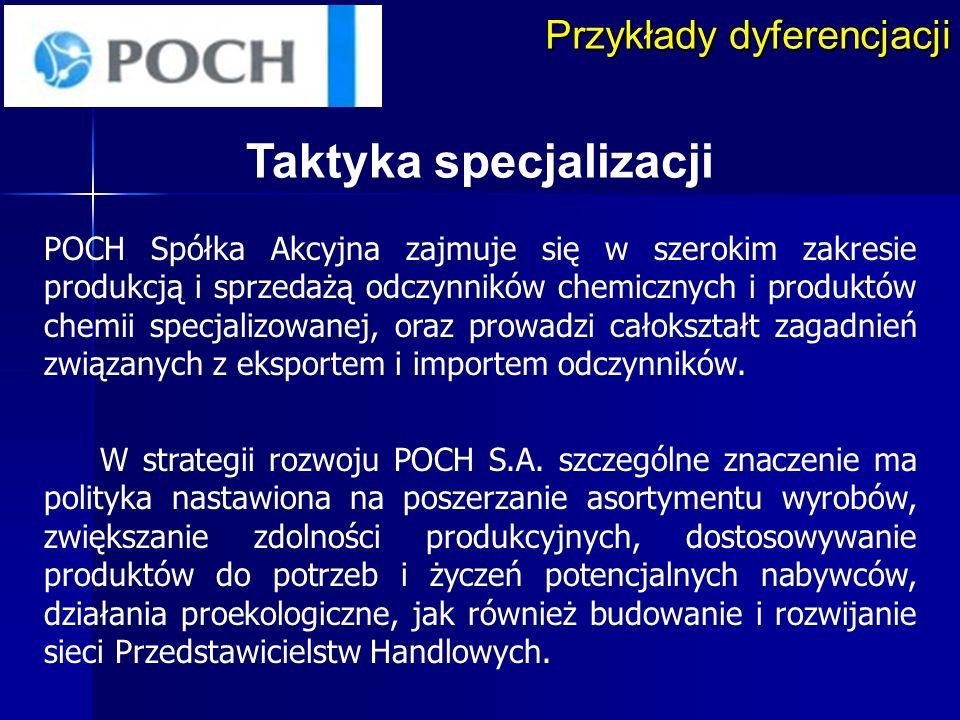 Taktyka specjalizacji