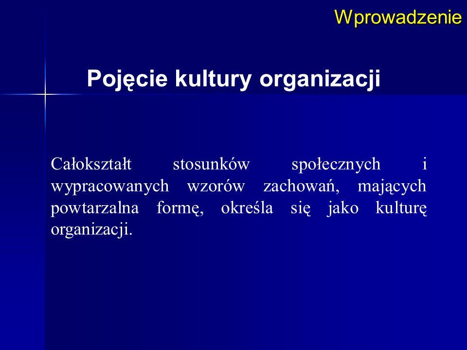 Pojęcie kultury organizacji