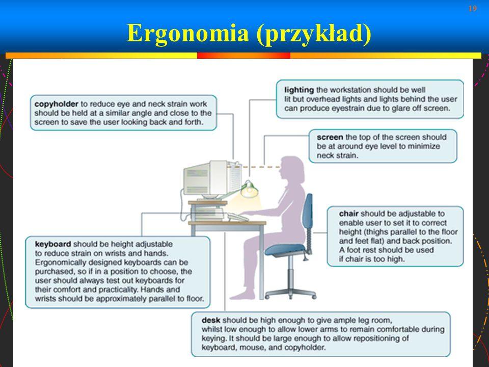 Ergonomia (przykład)