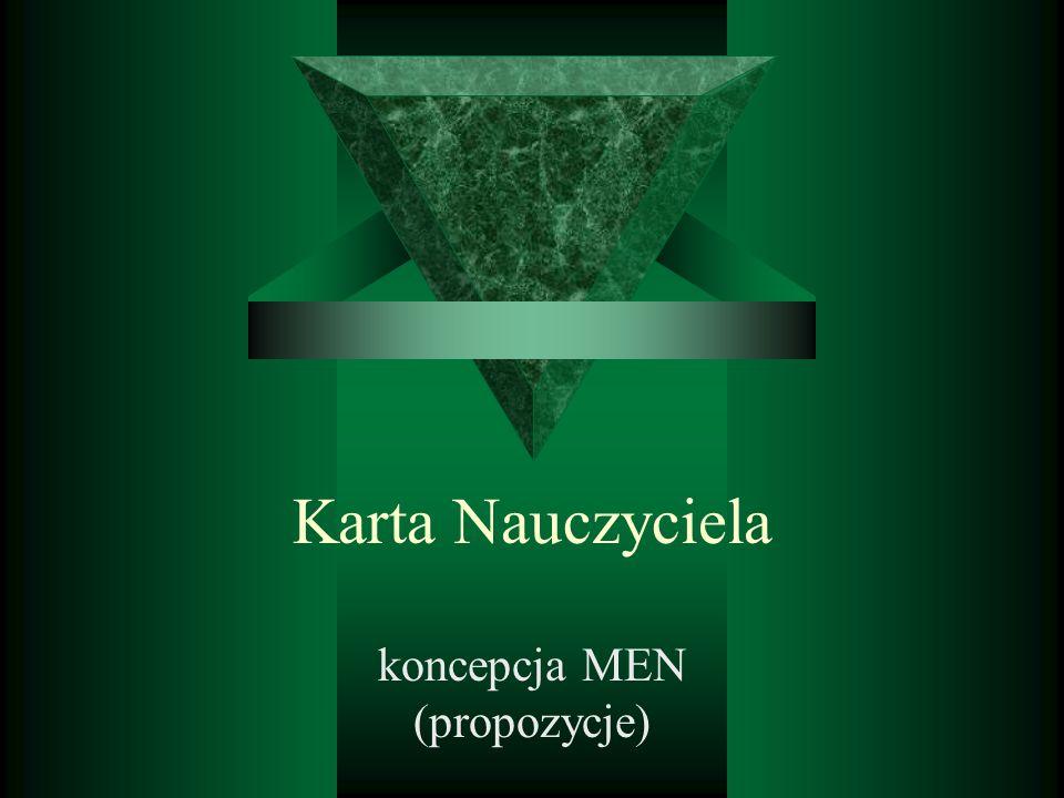 koncepcja MEN (propozycje)