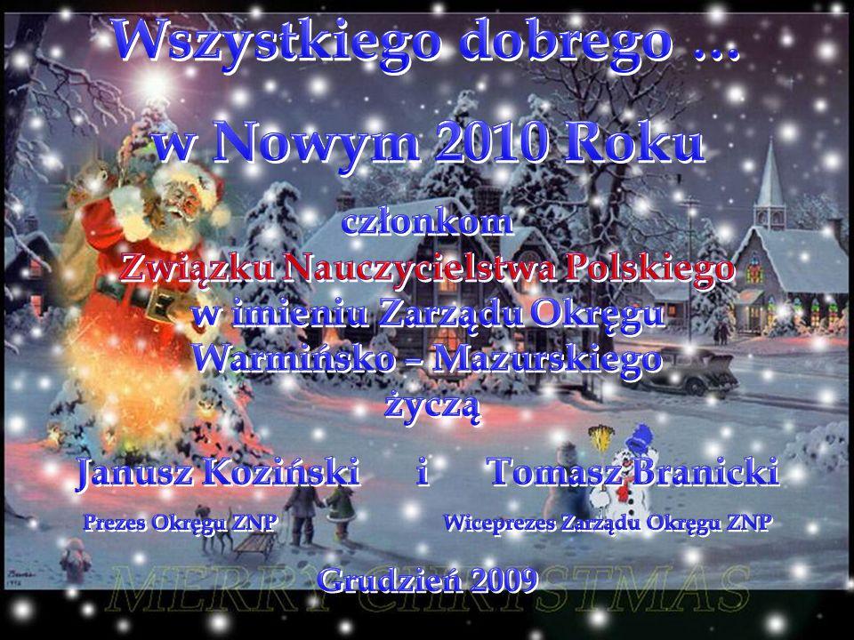 Wszystkiego dobrego … w Nowym 2010 Roku