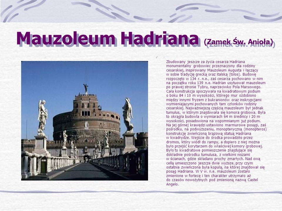 Mauzoleum Hadriana (Zamek Św. Anioła)