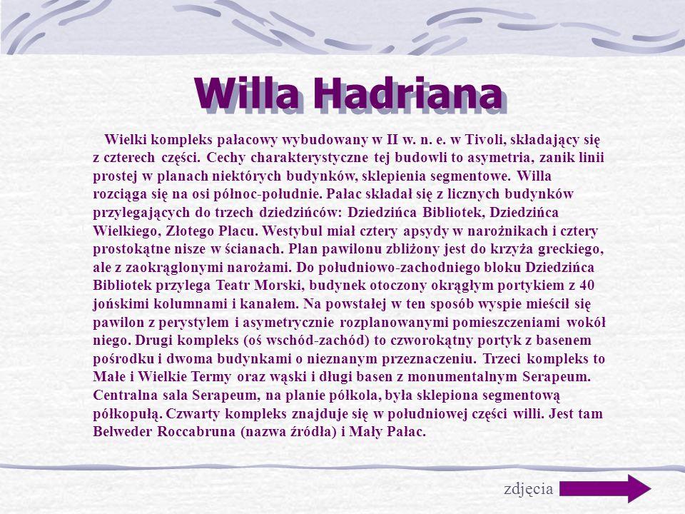 Willa Hadriana zdjęcia