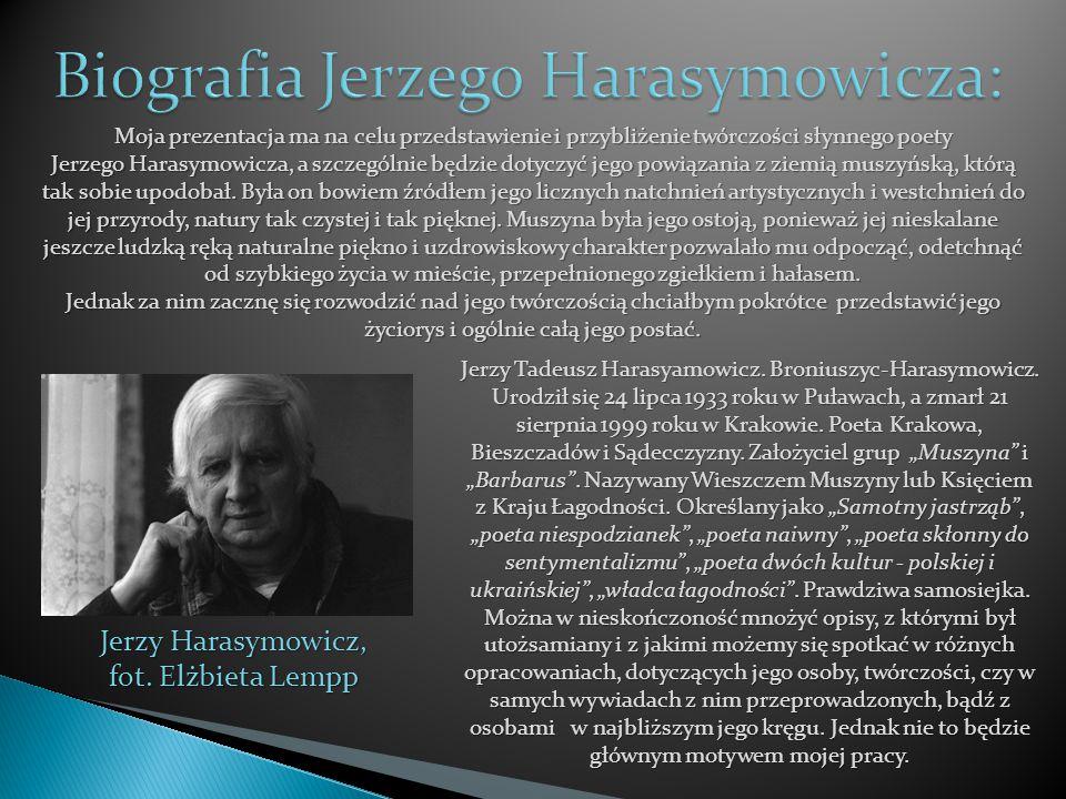 Biografia Jerzego Harasymowicza: