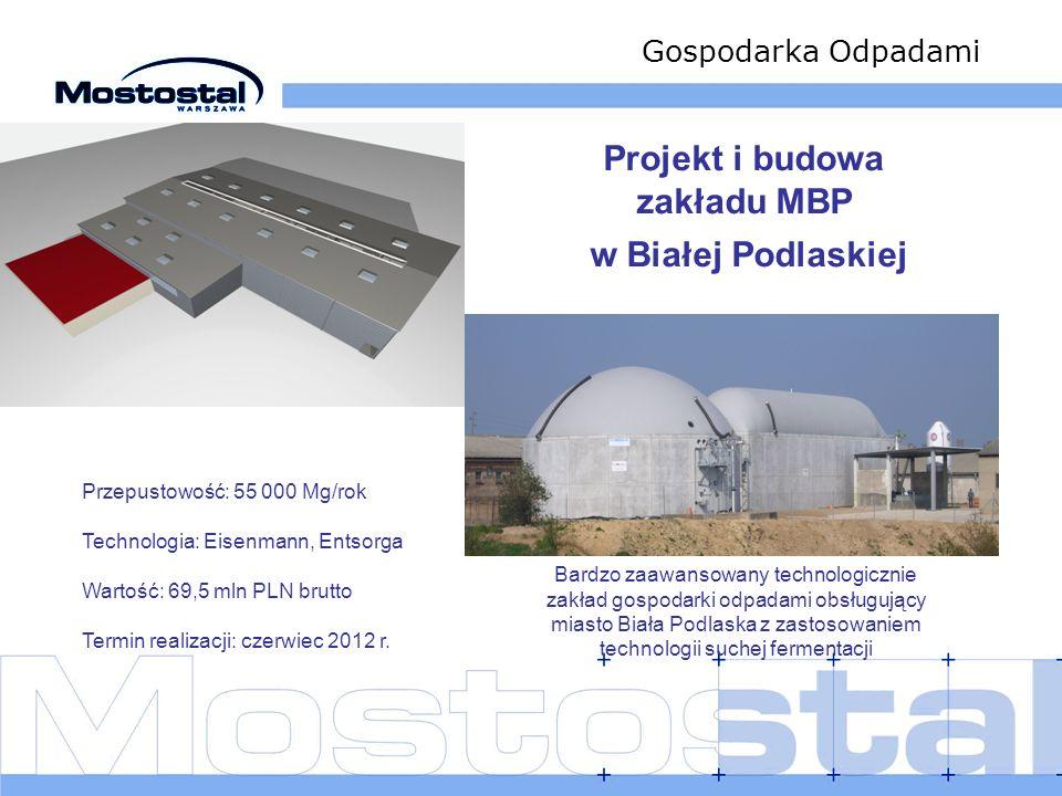 Projekt i budowa zakładu MBP