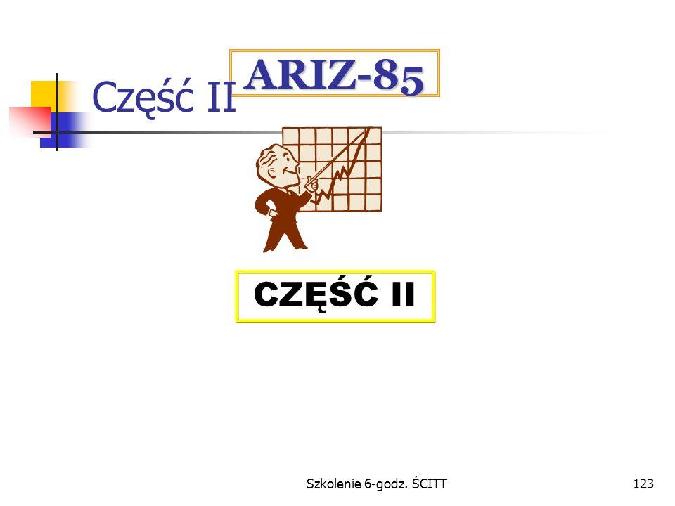 Część II ARIZ-85 CZĘŚĆ II Szkolenie 6-godz. ŚCITT