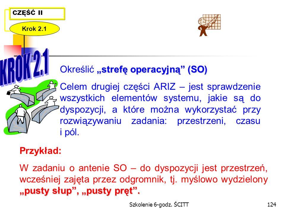 """Określić """"strefę operacyjną (SO)"""