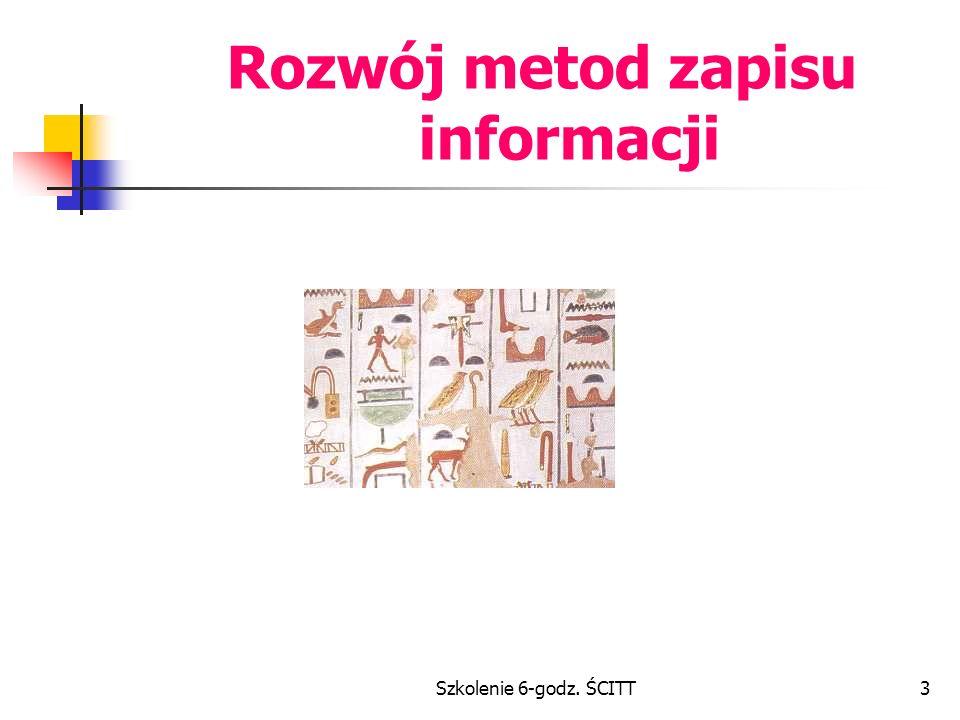 Rozwój metod zapisu informacji