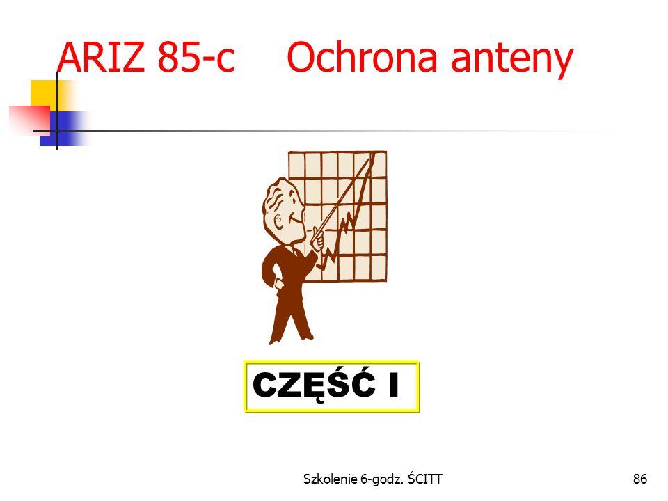 ARIZ 85-c Ochrona anteny CZĘŚĆ I Szkolenie 6-godz. ŚCITT