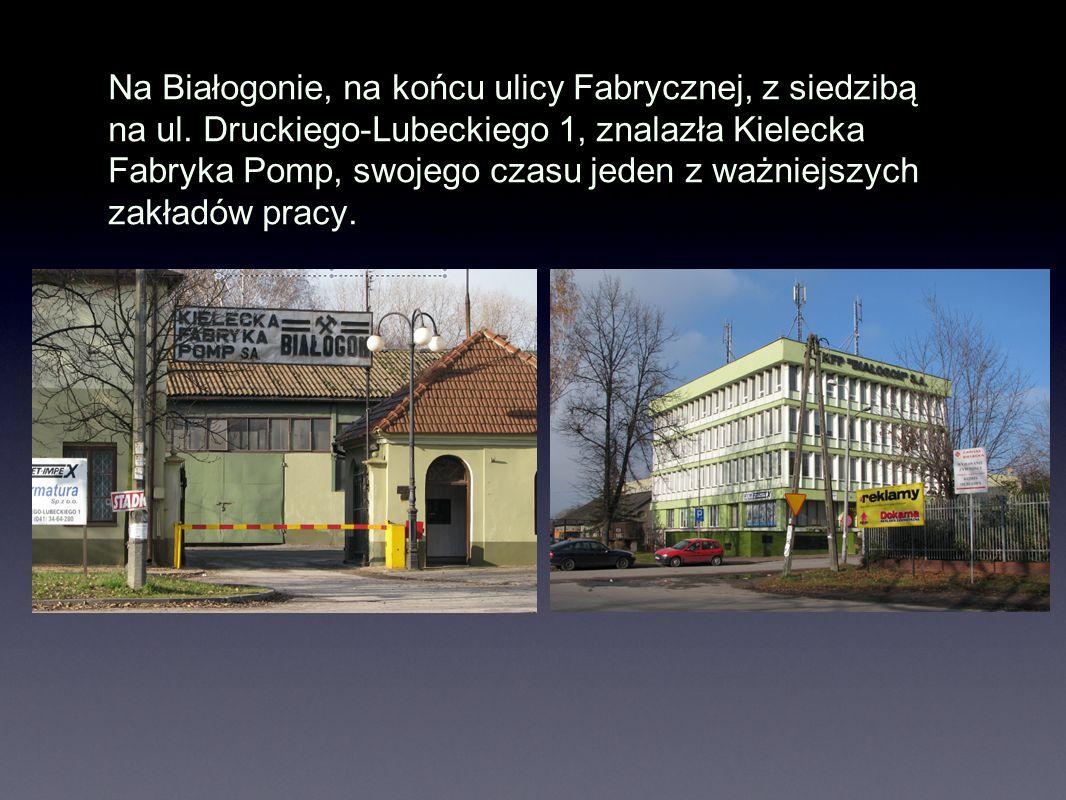 Na Białogonie, na końcu ulicy Fabrycznej, z siedzibą na ul