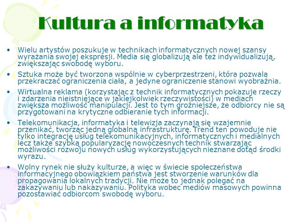 Kultura a informatyka