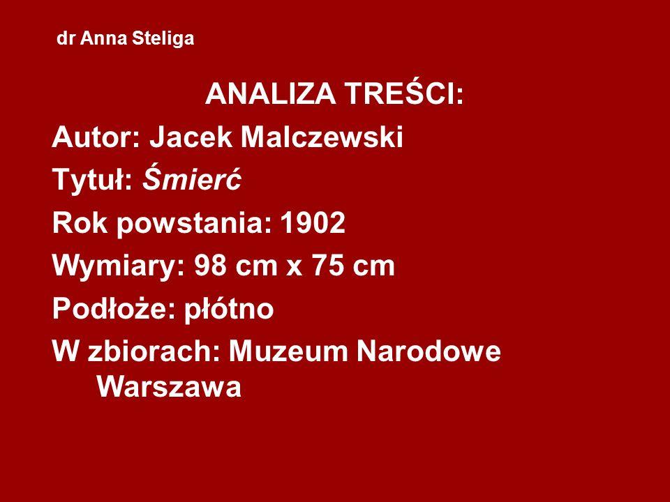 Autor: Jacek Malczewski Tytuł: Śmierć Rok powstania: 1902