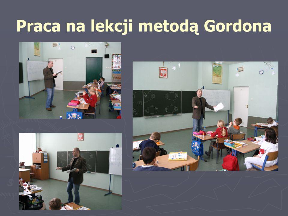 Praca na lekcji metodą Gordona
