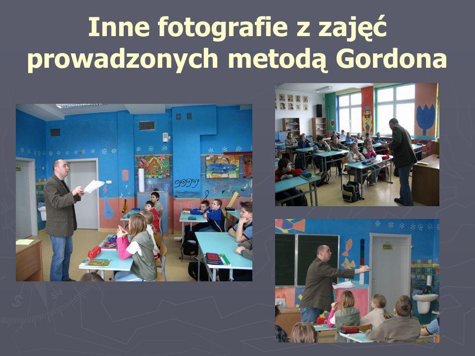 Inne fotografie z zajęć prowadzonych metodą Gordona