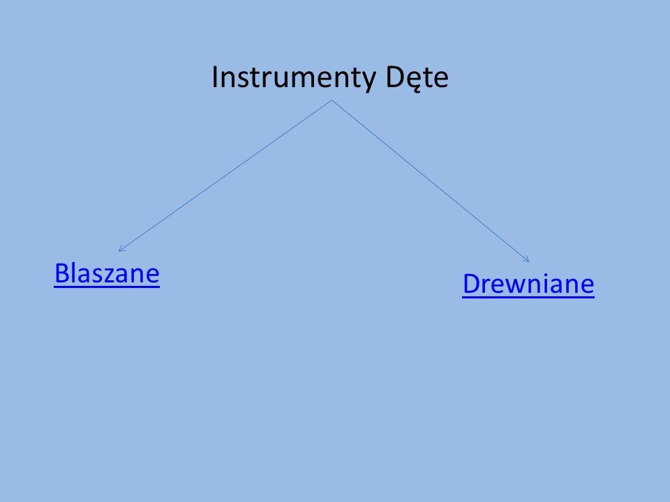 Instrumenty Dęte Blaszane Drewniane