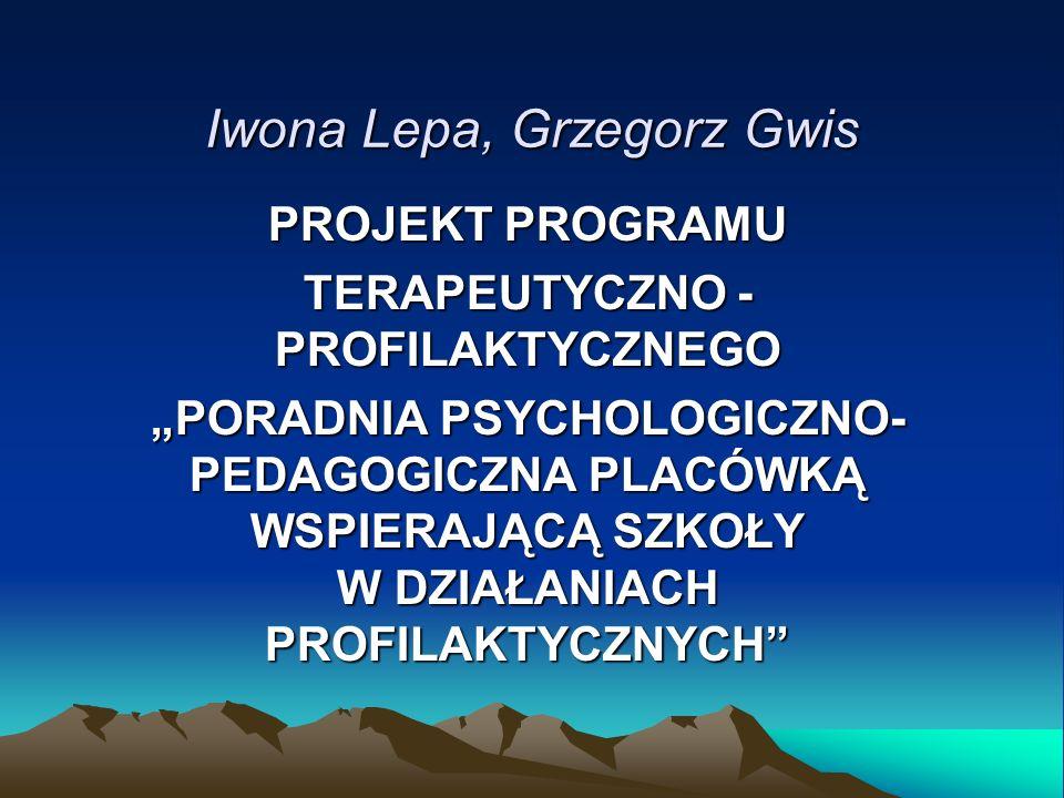 Iwona Lepa, Grzegorz Gwis