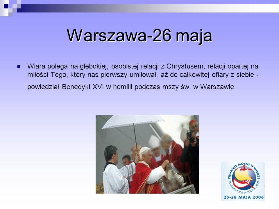 Warszawa-26 maja