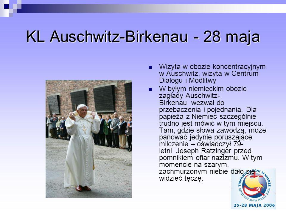 KL Auschwitz-Birkenau - 28 maja