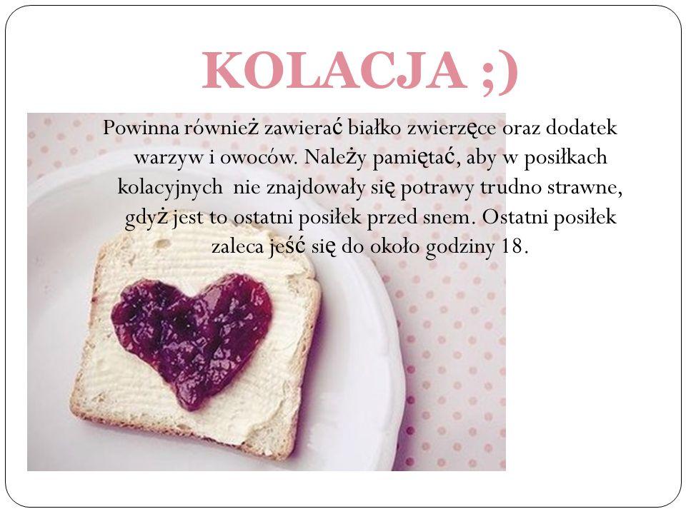 KOLACJA ;)