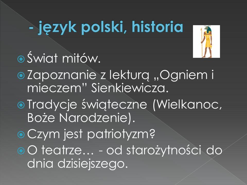- język polski, historia