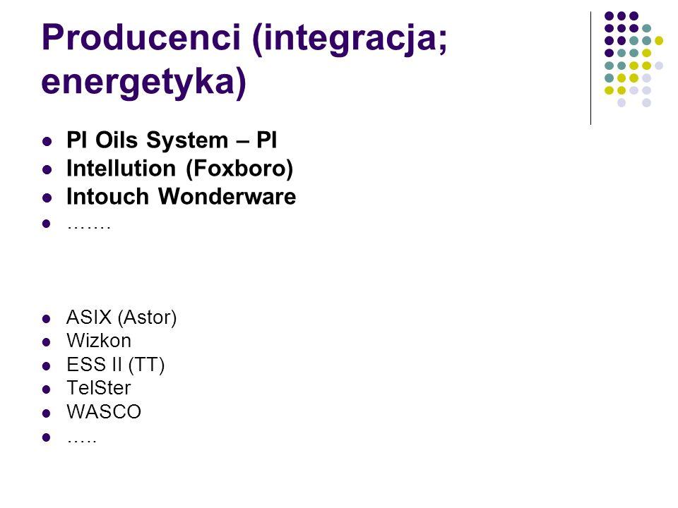 Producenci (integracja; energetyka)