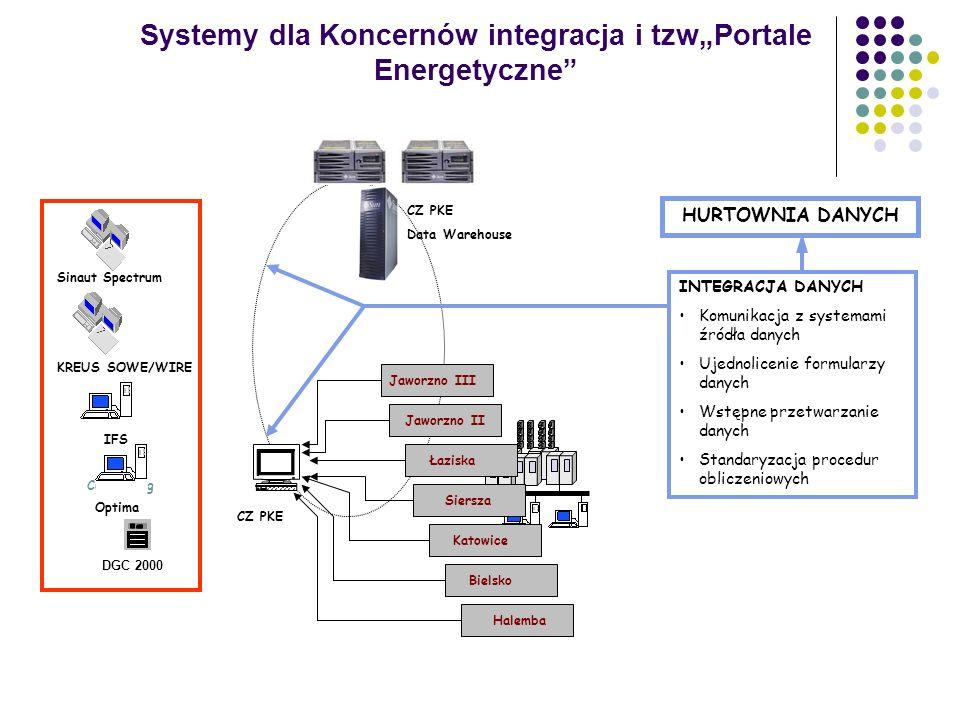 """Systemy dla Koncernów integracja i tzw""""Portale Energetyczne"""
