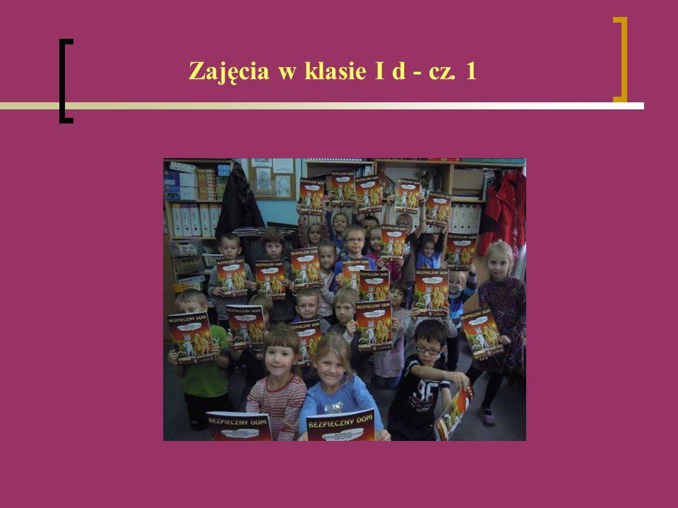 Zajęcia w klasie I d - cz. 1