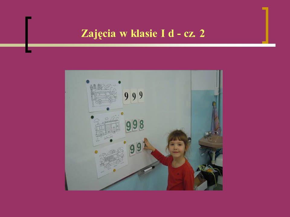 Zajęcia w klasie I d - cz. 2