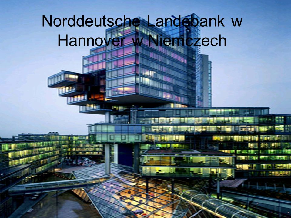 Norddeutsche Landebank w Hannover w Niemczech
