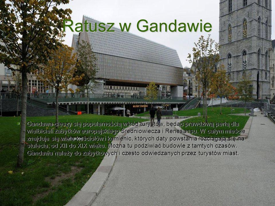 Ratusz w Gandawie
