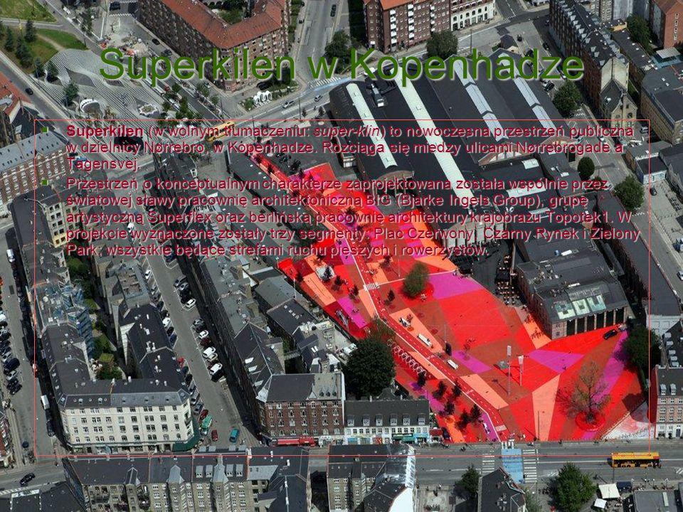 Superkilen w Kopenhadze