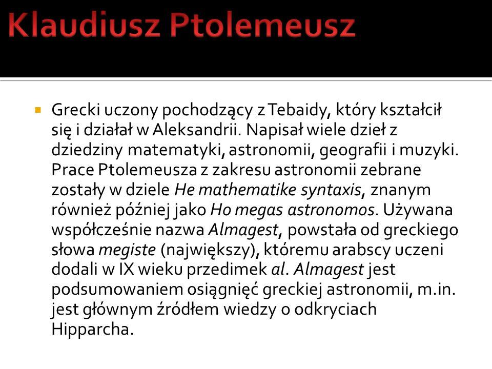 Klaudiusz Ptolemeusz