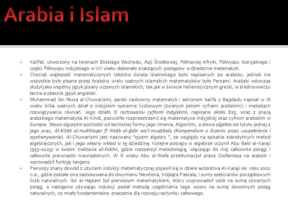 Arabia i Islam