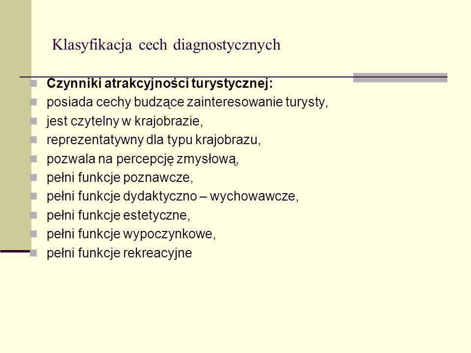 Klasyfikacja cech diagnostycznych