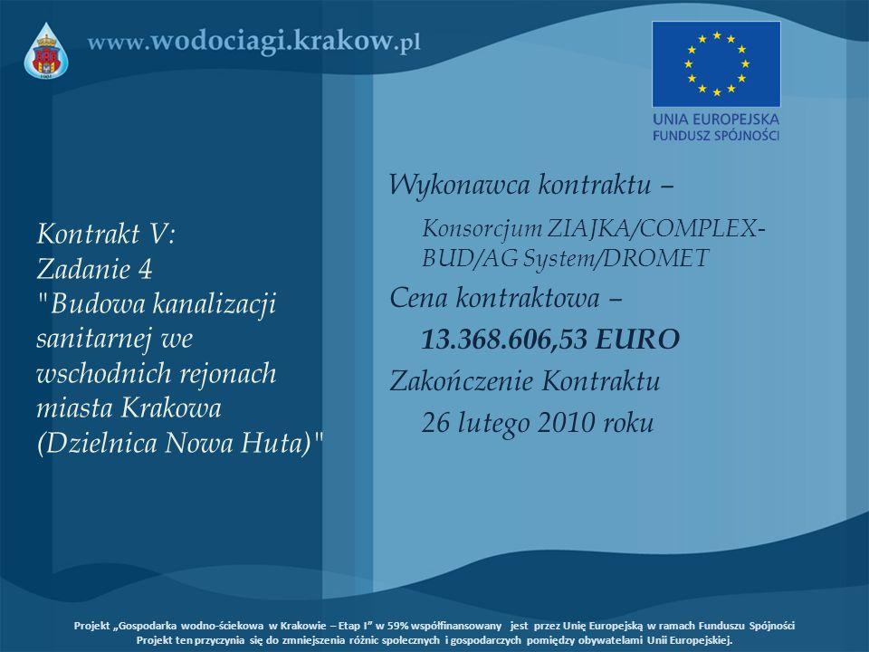 Konsorcjum ZIAJKA/COMPLEX-BUD/AG System/DROMET Cena kontraktowa –