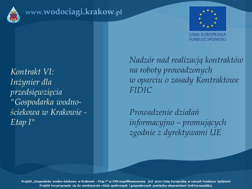 Nadzór nad realizacją kontraktów na roboty prowadzonych w oparciu o zasady Kontraktowe FIDIC