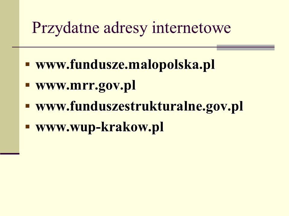 Przydatne adresy internetowe