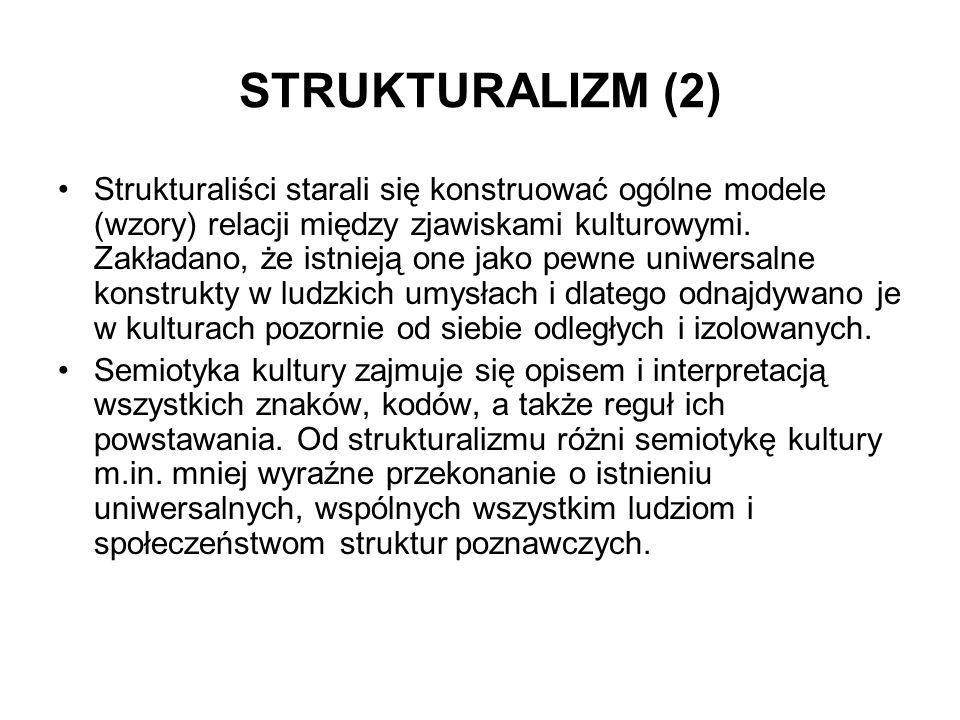 STRUKTURALIZM (2)