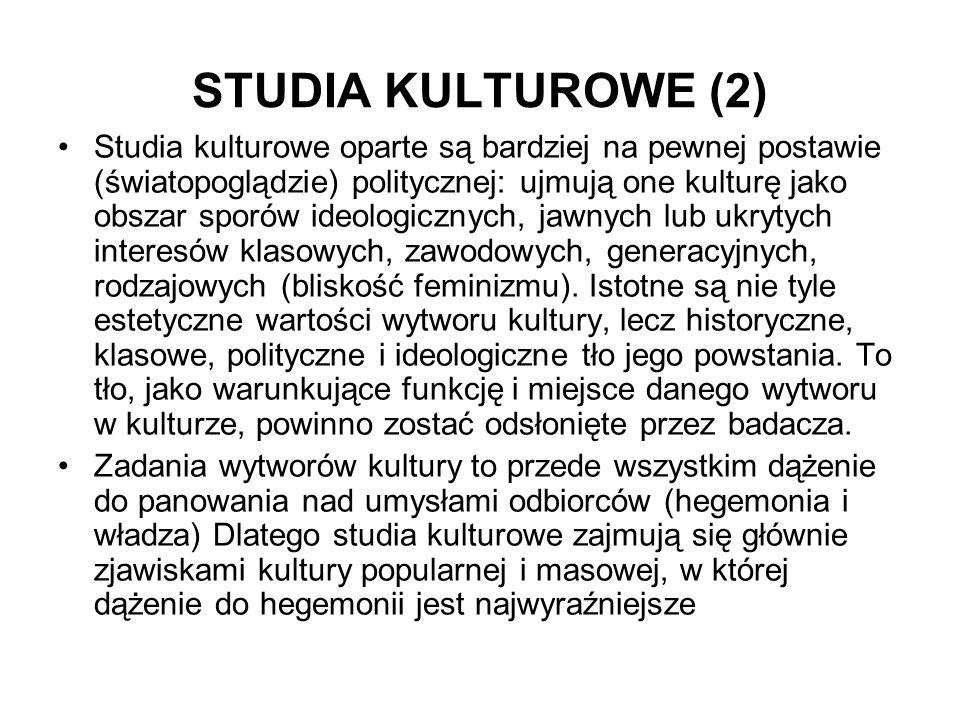 STUDIA KULTUROWE (2)