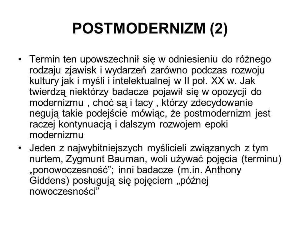 POSTMODERNIZM (2)