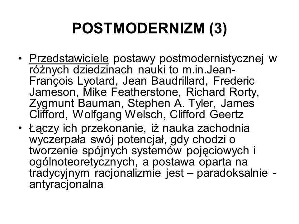 POSTMODERNIZM (3)