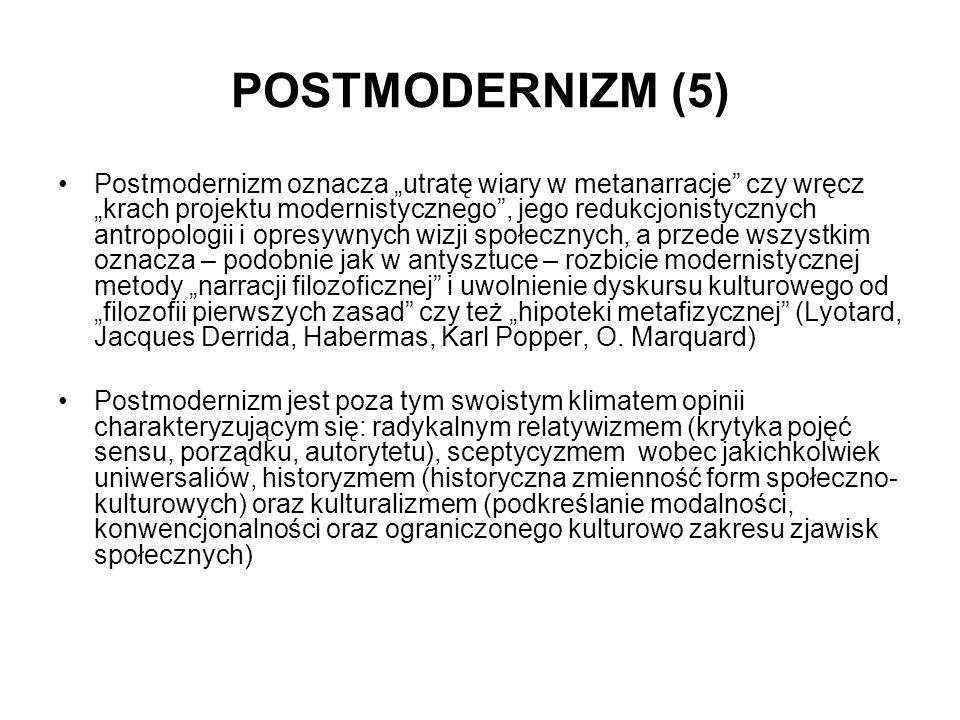 POSTMODERNIZM (5)