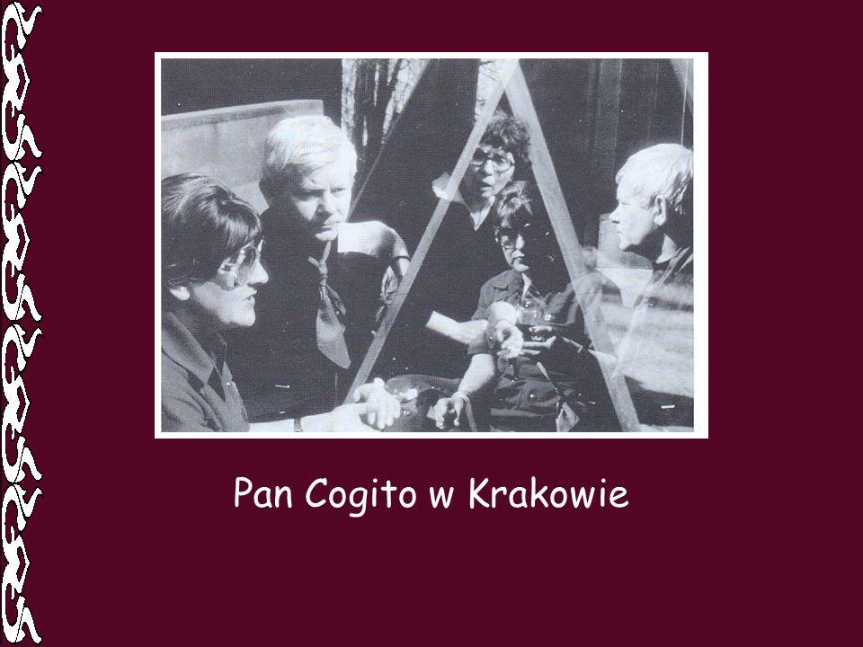 Pan Cogito w Krakowie